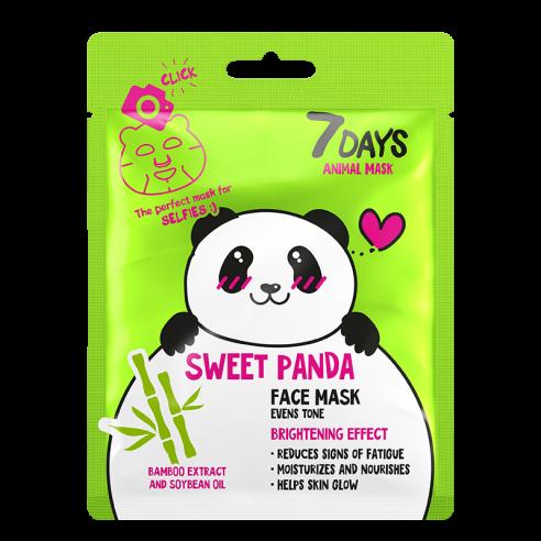 7DAYS ANIMAL Sweet Panda Sheet Mask 28g