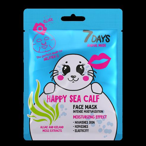 7DAYS ANIMAL Happy Sea Calf Sheet...