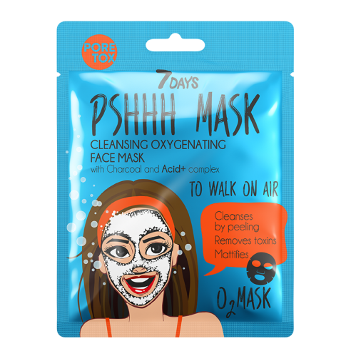 7DAYS PSHHH To Walk On Air Sheet Mask...