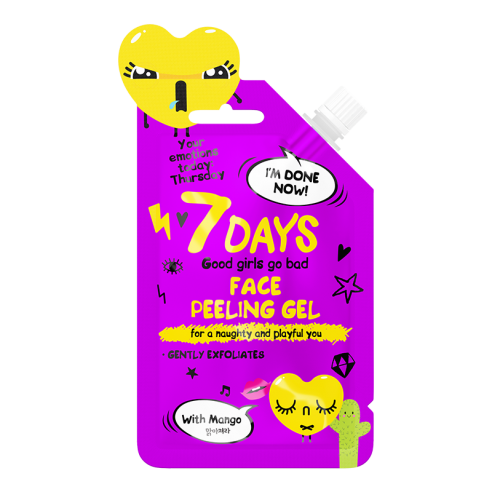 7 DAYS EMOTIONS Face Peeling Gel 25ml