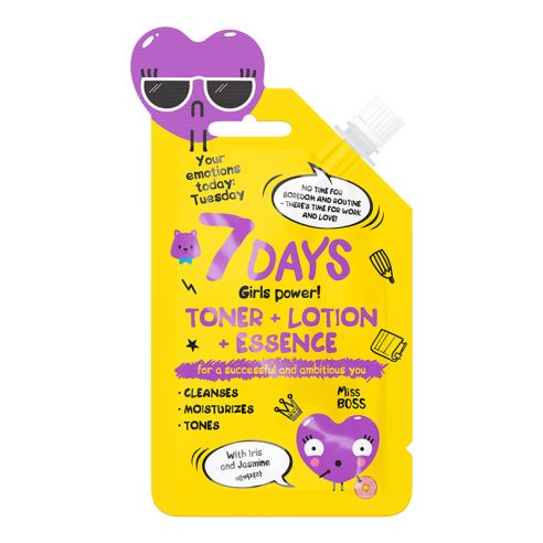 7DAYS YOUR EMOTIONS Toner Lotion...
