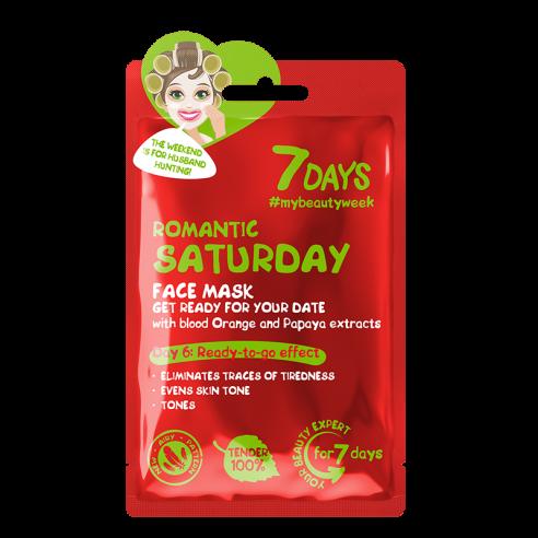 7 DAYS Romantic Saturday Sheet Mask 28g