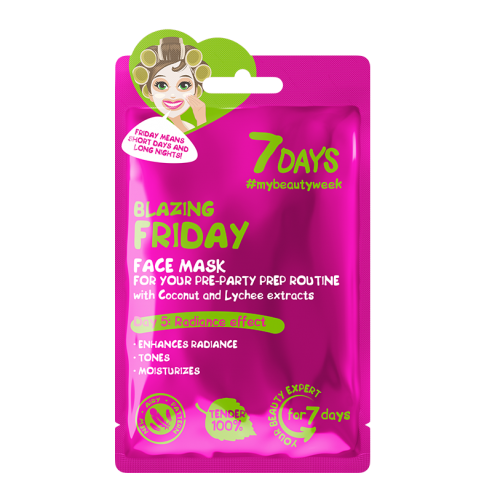 7DAYS Blazing Friday Sheet Mask 28g