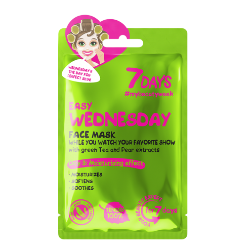 7 DAYS Easy Wednesday Sheet Mask 28g