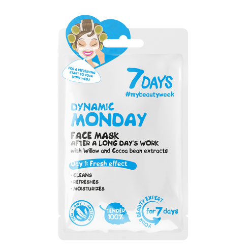 7 DAYS Dynamic Monday Sheet Mask 28g