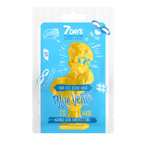 7DAYS CANDY SHOP Eye mask BLUE VENUS...