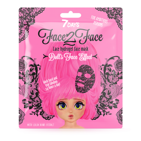 7DAYS FACE-2-FACE Lace Hydrogel Sheet...