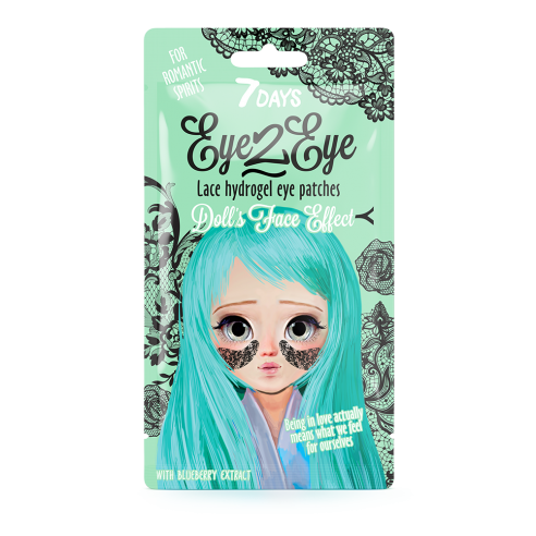 7DAYS EYE-2-EYE Lace Hydrogel Eye...