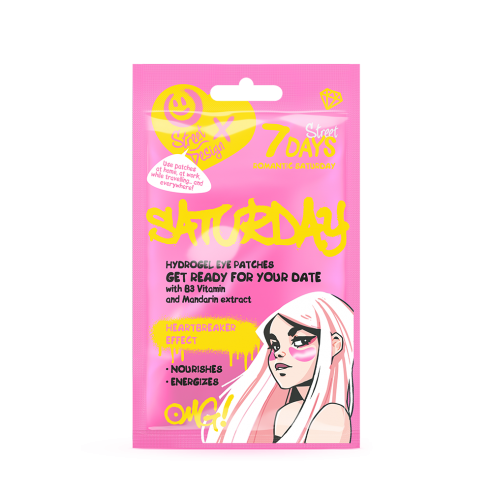 7 DAYS Hydrogel eye patches ROMANTIC...