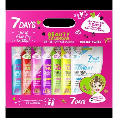 7DAYS Gift set Beauty Calendar, 8...