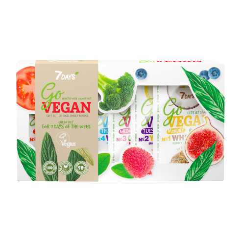 7DAYS GO VEGAN Gift set HEALTHY WEEK...
