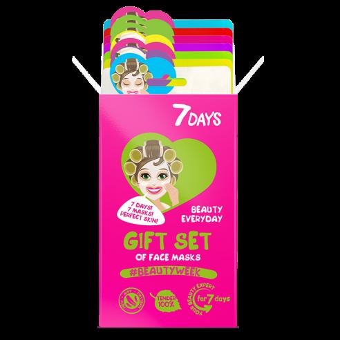 7DAYS Gift set Beauty week (7 μάσκες)